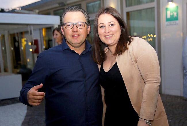 Stefano Parolin e Chiara Tessarollo